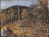 Fortunatus et ille deos qui novit agrestes, 1998, olio su cartone, cm 25x33
