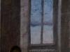 G. nello studio, 1998, pastello su carta nepalese, cm 30x21