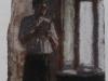 Gianni, 1993, pastello su carta preparata, cm 33x21,5