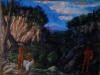 Marsyas, 2011, pastello su carta di riso, cm 50x38