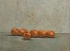 Trittico (Annunciazione), 2001, olio su tela, parte centrale, cm 100x50