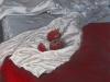 \'La rapita ha rotto il digiuno con tre semi...\' , 2010, pastello su carta Ingres, cm 50x35