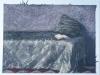 Angolo di atelier, 2000, pastello su carta nepalese, cm 22x32