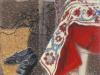 \'...e i misteri che gli iniziati contemplavano...\', 2010, pastello su carta Ingres, cm 50x35