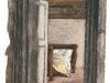 Interno, 2001, pastello su carta nepalese, cm 32x23