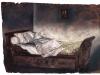 Interno, 2009, pastello su carta nepalese, cm 25x33,5