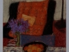 Interno a rue Tournefort, 2009, pastello su carta indiana, cm 24,5x17,5