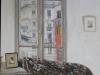 Interno a rue Tournefort, 2011, olio su tela, cm 35x27