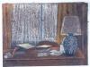 Interno berlinese, 2000, pastello su carta nepalese, cm 20x31