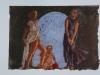Lambe, pastello su carta vergata, cm 20,5x28