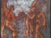 Ermes  da Persefone e Ade, pastello su carta di riso, cm 24,5x27