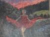 Kore, olio su tela, cm 120 x150