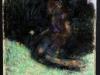 Il narciso, che aveva generato insidia per la fanciulla dal roseo volto, carta di giornale, cm 31x22