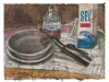 Andenken, 2000, pastello su carta nepalese, cm 23x30,5
