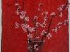 Rami di pesco, 2010, pastello su carta nepalese, cm 75x50