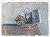 Vita silente, 2000, pastello su carta nepalese, cm 22x32