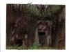 Nymphae loci, Dall\'album delle ninfe del luogo, pastello su carta nepalese, cm 113,2x18,2