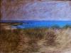 Il mare di Scicli  a Sampieri,  2011, pastello su carta nepalese, cm 25x35