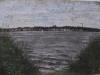 Lago a Berlino, 2001, pastello su carta nepalese, cm 23x31,5