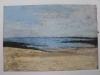 Mare a S. Andrews, 2001, pastello su carta nepalese, cm 17x25