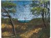 Mare dal lago di Varano, 2007, pastello su carta nepalese, cm16x20