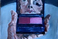 3. me pinxit 2, olio su tela, 20x20, 2011