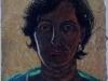 L\'Etrusca, 2001, pastello su carta nepalese, cm 32x25