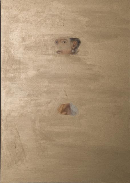 Scoprire la ninfa, olio su tela, 2014, cm. 70x50