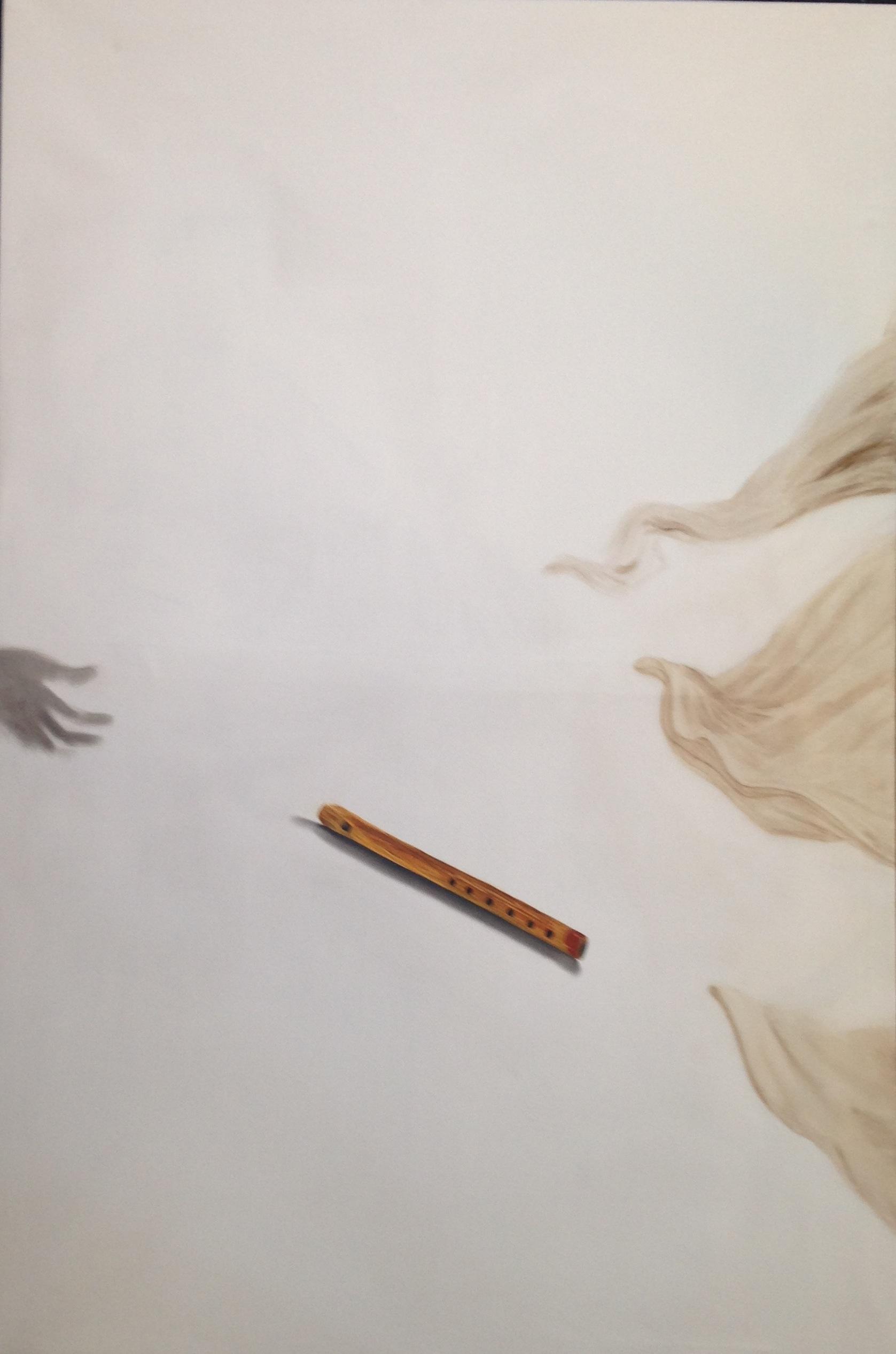 A 13) Il flauto di Marsia, 2018, 150x110