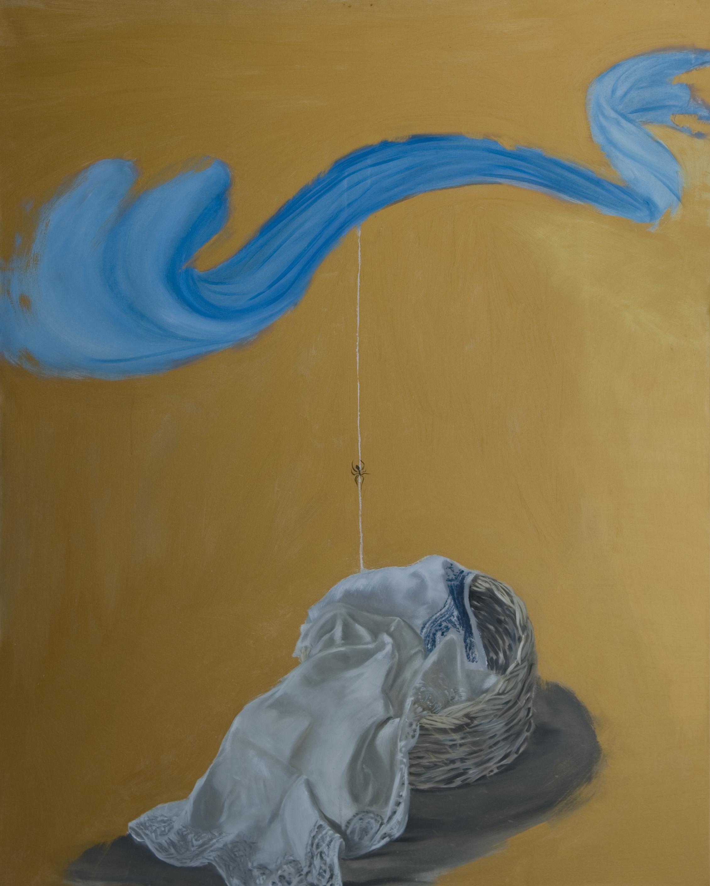 B 4) Aracne, olio su tela, 2015, cm. 150x120 jpg