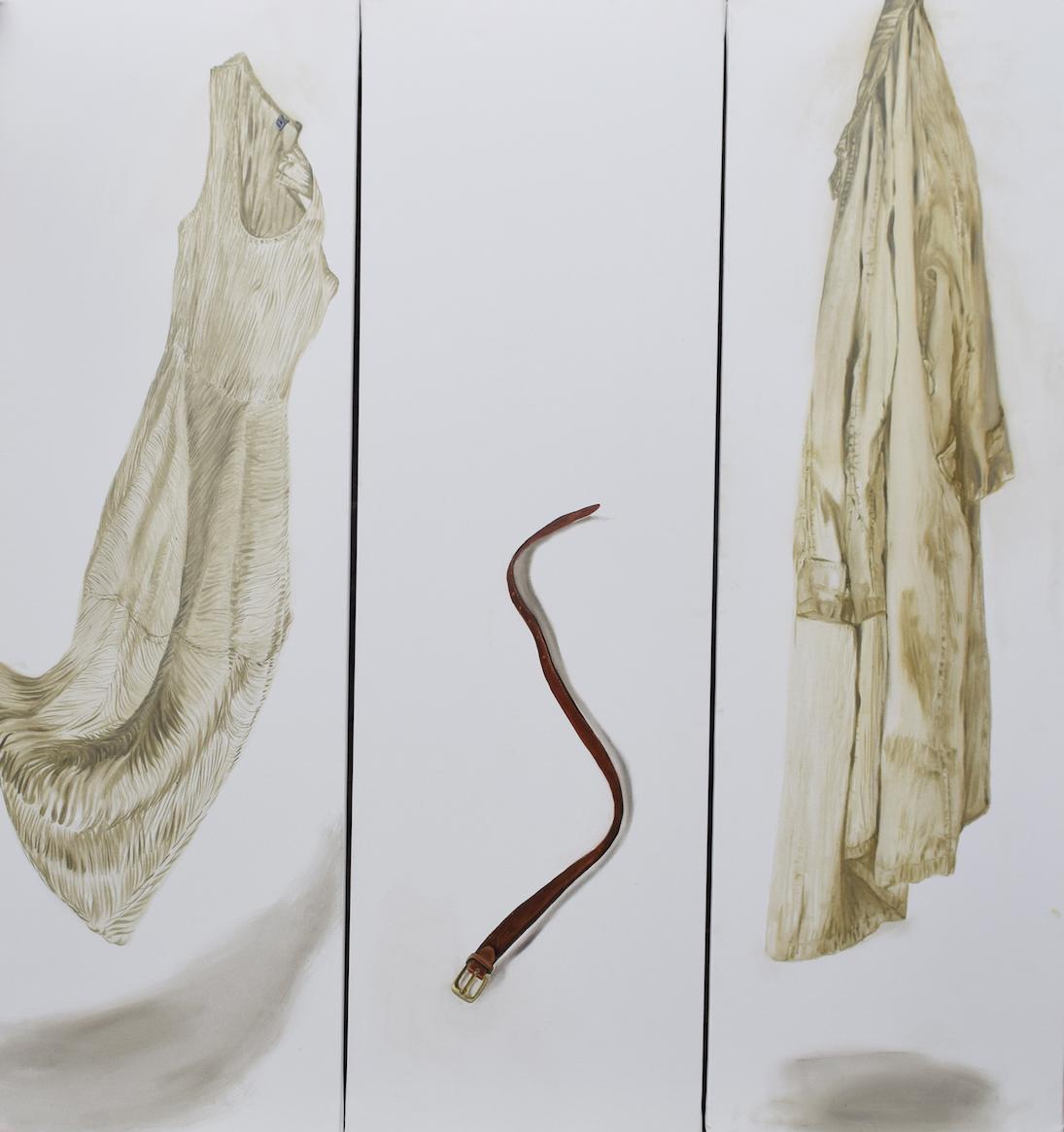 Paravento, 2017, olio su tela, 160x150